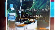 Regionale Produkte Seychellen local products Eden Springs Wasser
