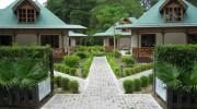 Seychellen, La Digue, Villa Creole
