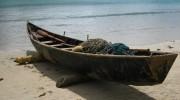 Seychellen-Fischerei, traditionelles Fischerboot