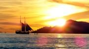 Seychellen Kreuzfahrten, Traditionssegler vor Praslin