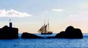 Seychellen Kreuzfahrten, Traditionssegler vor La Digue