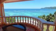 Seychellen, Mahé, Au Fond de Mer View