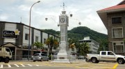 Seychellen, Mahé-Nord, Victoria Zentrum, Clock Tower