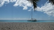 Seychellen, Praslin, Anse Georgette Panorama