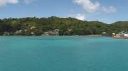 Seychellen, Praslin, Jetty Fähranleger, Chalets Cote Mer, Colibri Guesthouse_Panorama