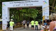 Marathon Seychellen Eco Friendly 2016 Ziel Finish