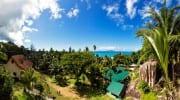 Villas Du Voyageur Praslin Seychellen Meerblick