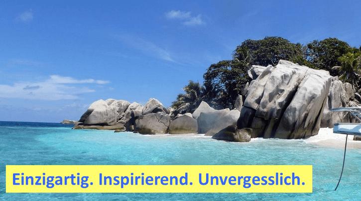 Lebensfreude Seychellen Heldenreise