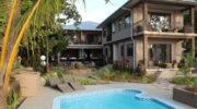 Le Repaire Boutique Hotel La Digue Seychellen Aussenansicht