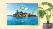 Wandkalender Kalender Seychellen 2021